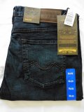 Urban Star men's jeans - relaxed fit - straight - 36 x 30 - midnight blue