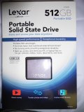 Lexar 512 GB Portable Solid State Drive (SSD)