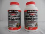 Kirkland Glucosamine HCI 1500mg Chondroitin Sulfate 1200 mg - Pack of 2