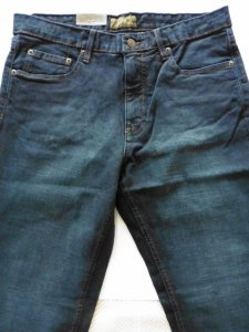 Urban Star men's jeans - relaxed fit - straight - 34 x 30 - midnight blue
