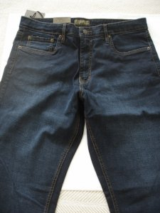 Urban Star men's jeans - relaxed fit - straight - 36 x 32 - dark blue